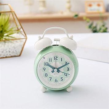 Yanshu Reloj Despertador Alimentado por batería niños ...
