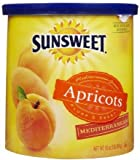 #3: Sunsweet Apricots Mediterranean 16 Ounce/Canister, (Pack of 2)