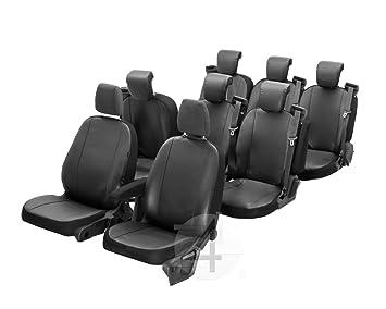 Sitzbezüge Schonbezüge SET QB Mercedes Vito Kunstleder schwarz