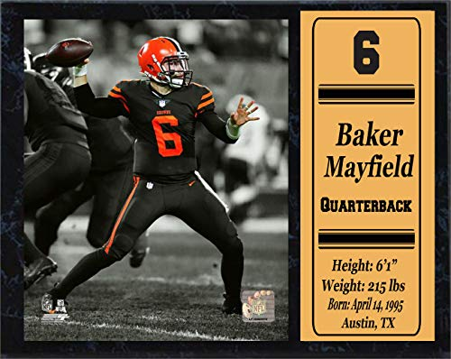 025bb190c Baker Mayfield Cleveland Browns Plaque