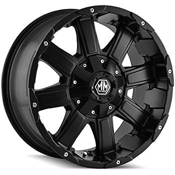 Mayhem Rampage 8090 Black Wheel with Milled Spokes 18x9//12x139.7mm