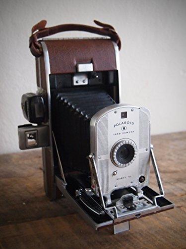 Vintage Polaroid Model 95 Folding Land Camera