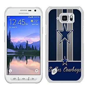 Samsung Galaxy S6 Active Case,Dallas cowboys 1 White Samsung Galaxy S6 Active Phone Case