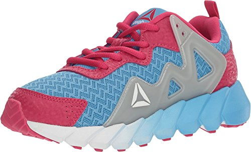 Price comparison product image Reebok BD3775 Girl's Exocage Athletic II - Pre-School Shoe,  Sky Blue / Echo Blue / Pink Craze / Silver - 12.5