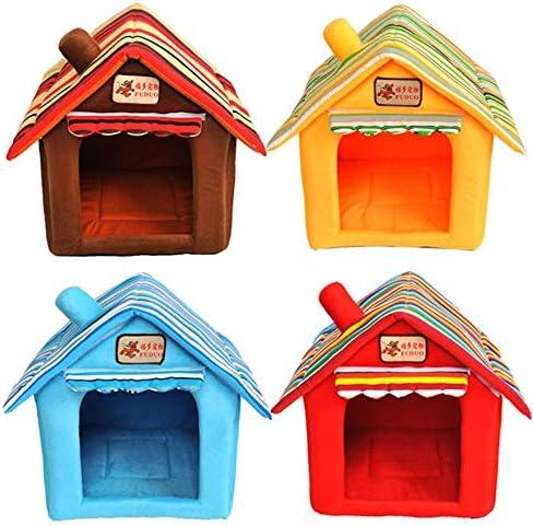 ERTY - Gabbia per cani e gatti, per interni ed esterni, può essere trasportata, rimovibile e lavabile, L