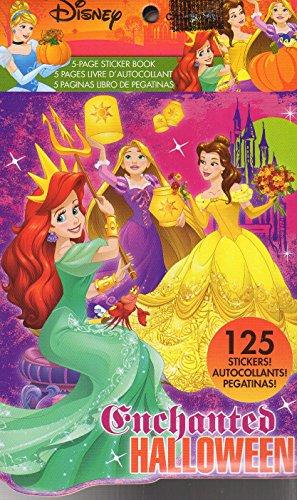 (Disney Princess Stickers Book - 125 Stickers - Halloween)