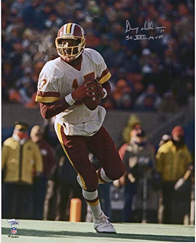 "Doug Williams Washington Redskins Autographed 16"" x 20"" White Vertical Photograph with""SB XXII MVP"" Inscription - Fanatics Authentic Certified"