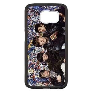 P9F37 El Stone Roses T4F7BN funda Samsung Galaxy S6 funda caja del teléfono celular cubren HY5CBF0GL negro