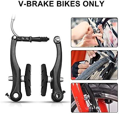 MTB Genuine GMAX Bike v Brake Pads one Pair Cycle Brake Blocks Central Post