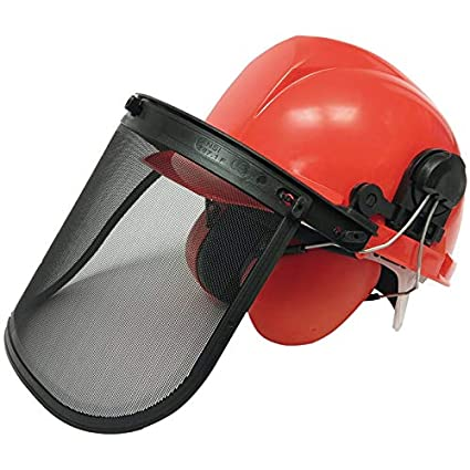 Bgs BGS-3641 - Casco de seguridad, con visera y del oído protectores,