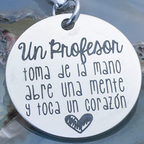 Llavero regalo para el Día del Profesor