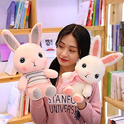 SXPC Plush Software Cartoon Cute Bunny Doll Children's Gift Plush Toy: Sports & Outdoors