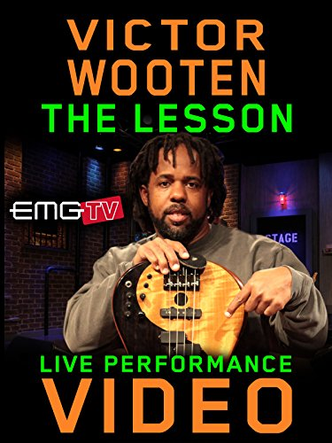 Victor Wooten - The Lesson - EMGtv Live Performance (Best Bass Guitar Effects)