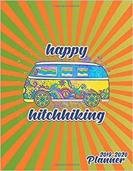 Amazon.com: Happy Hitchhiking 2019-2020 Planner: Nifty Boho ...