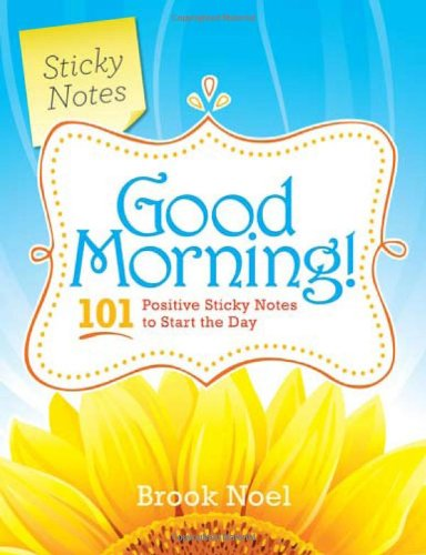 Good Morning Positive Sticky Notes product image