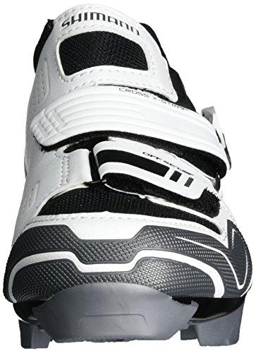 Scarpe Mtb Shimano Per Adulto Spd Sh Xc 51 Bianco / Nero