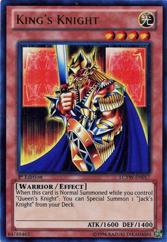 YU-GI-OH! - King39;s Knight (LCYW-EN017) - Legendary Collection 3: Yugi's World - 1st Edition - Ultra Rare