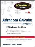 Schaum's Outline of Advanced Calculus, Third