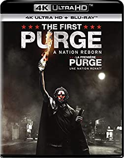 The First Purge [4K Ultra HD + Blu-Ray] (Bilingual) (B07F3WRPN4) | Amazon price tracker / tracking, Amazon price history charts, Amazon price watches, Amazon price drop alerts