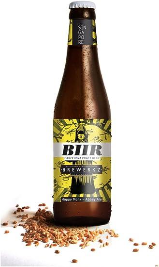 Cerveza HOPPY MONK Botella de 33 cl. Pack 24 botellas: Amazon.es: Alimentación y bebidas
