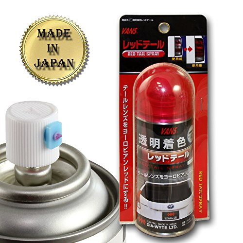 1 X VANS 110ML JDM Red Tail Tint Lens Head Fog Bumper Light Painter Paint - Standard Lens Tint