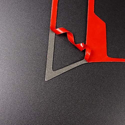 2 St/ück Carbon Fiber Mittelkonsole Getriebekasten Rahmen Abdeckung