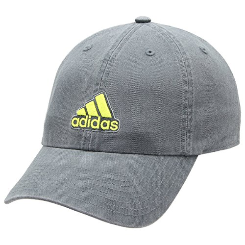 adidas Men's Ultimate Relaxed Fit Cap, Onix Grey/Shock Slime/Grey, One Size