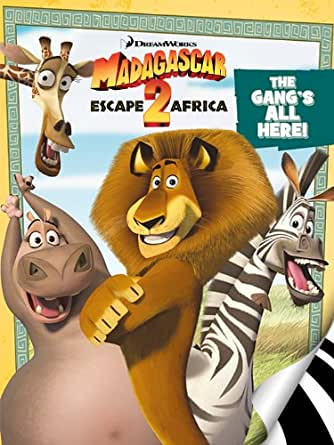 Madagascar Escape 2 Africa The Gang S All Here Kindle Edition By Zuuka Children Kindle Ebooks Amazon Com
