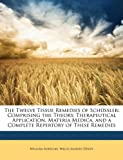 The Twelve Tissue Remedies of Schüssler, William Boericke and Willis Alonzo Dewey, 1147213259