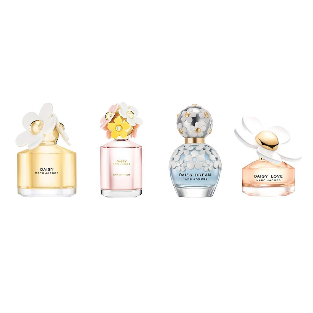 Marc Jacobs 4 Pieces for Women Mini Gift Set, 0.52 Ounce