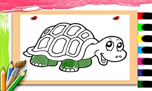 Kids Animal Color & Draw Fun from Kiddys Games