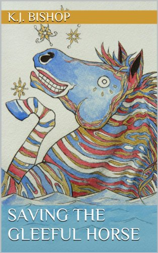 book cover of Saving the Gleeful Horse