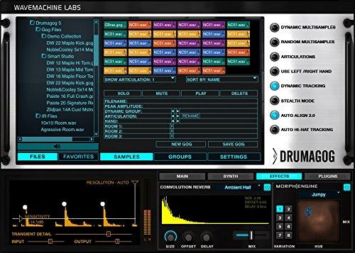 Wave Machine Labs Drumagog Pro Version 5 by Wave Machine Labs