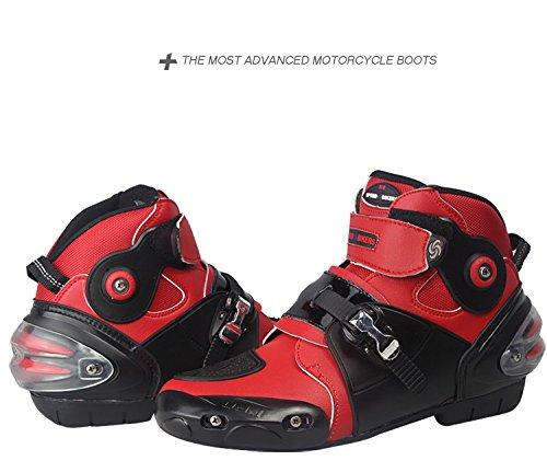 5 Botas Etbotu 10 7 Hombre Red Para Black ApxBd80