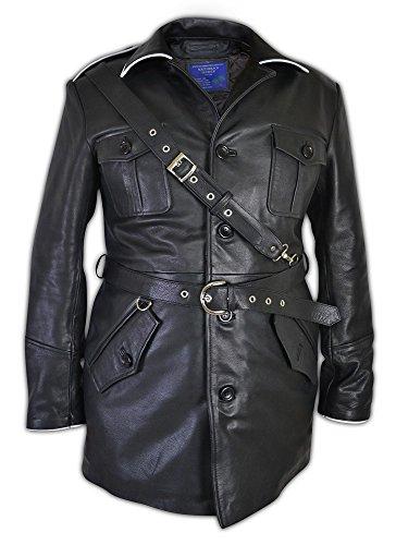 German World War 2 Leather Uniform Tunic Jacket/WW2 Jacket (X=Large)