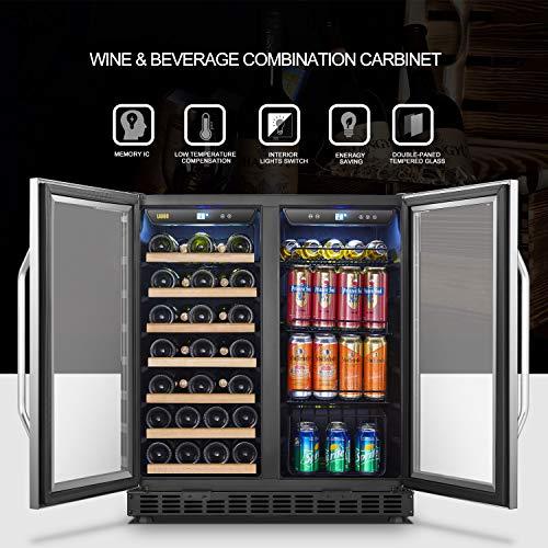 Lanbo Wine And Beverage Cooler Compressor Under Counter