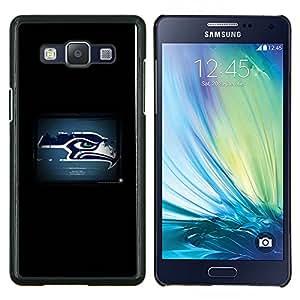 Qstar Arte & diseño plástico duro Fundas Cover Cubre Hard Case Cover para Samsung Galaxy A5 A5000 (Seattle Seahawk)