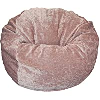 Ahh! Products Tan Chenille Washable Large Bean Bag Chair