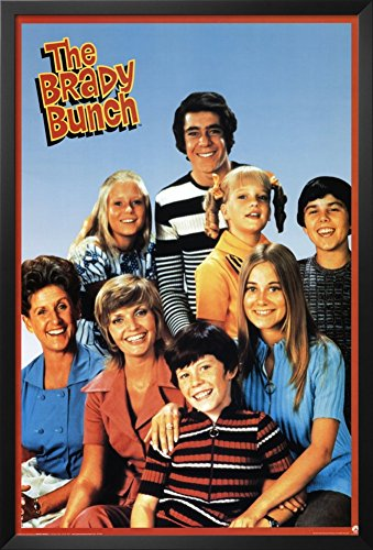 The Brady Bunch Framed Poster