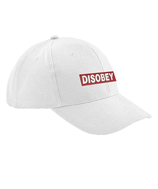 Ulterior Clothing Disobey Embroidered Baseball Cap