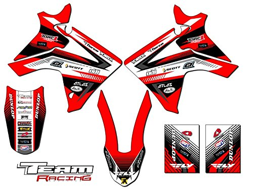 Team Racing Graphics kit for 2013-2017 Honda CRF 110, ANALOG