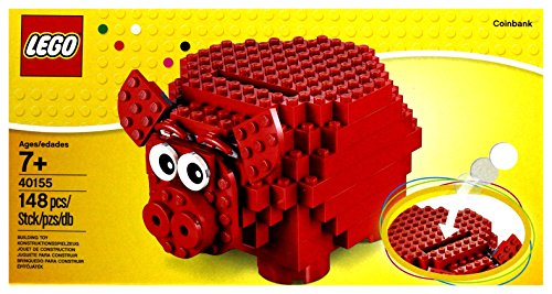 LEGO Pig Coin Bank 40155 (Piggy Set Bank)