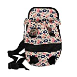 Large Front Pouch Dog Carrier Designer Dog Carrier Dog Chest Carrier with Lip Print Double Sided Opening Review