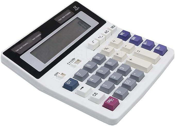 Qztg calcolatrice Big Buttons ufficio calcolatrice grande computer Keys muti-funzione computer batteria calcolatrice
