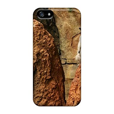 cf526d74190642 Awesome Case Cover iphone 5 5s Defender Case Cover(animal Lonely Meerkat  Nature)  Amazon.co.uk  Electronics