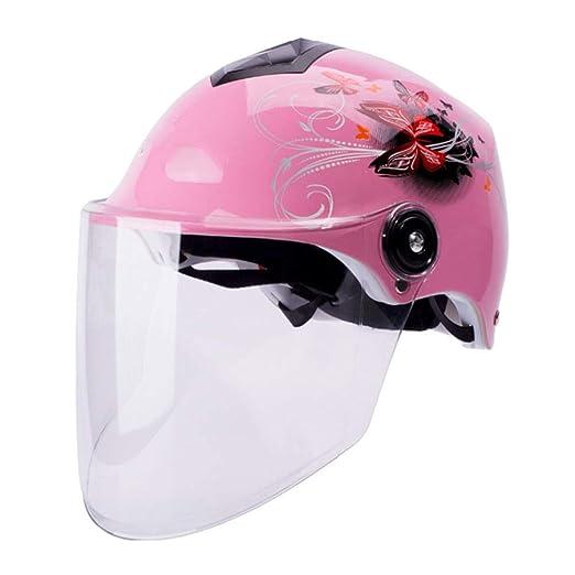 shuhong Casco De Motocicleta Summer Racing Half Face Helmet para ...