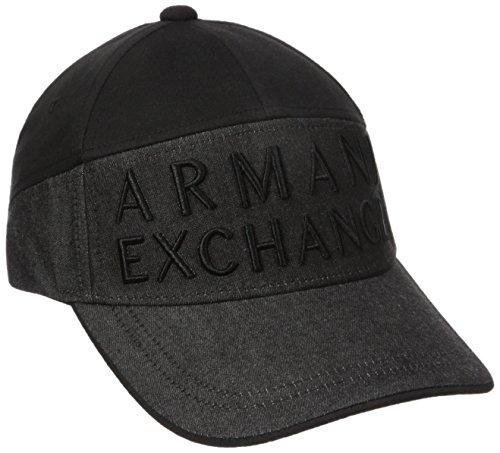 Armani Exchange Men s Denim Logo Baseball Hat b1b0dba010fc