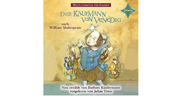 Amazon.com: Der Kaufmann von Venedig (Weltliteratur für Kinder ...