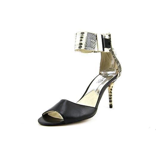 Michael Kors Women's Guiliana Open Toe Shoe Sandal Black Size 7.0