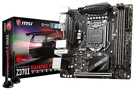 Z370I Gaming Pro Carbon AC - Placa Base Performance (chipset Intel Z370, Socket LGA